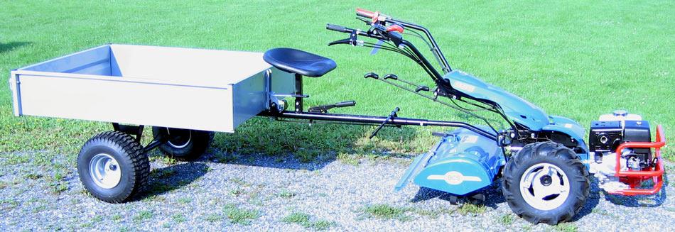 Vermont Bcs Dump Utility Cart Attachment