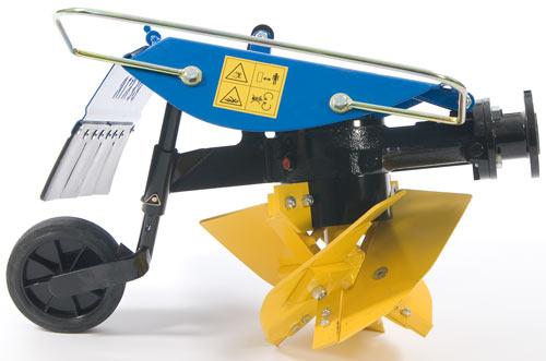 Tiller Plow Attachment Plow Works Like a Tiller