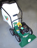 Vermont Billy Goat KD612 lawn vaccuum