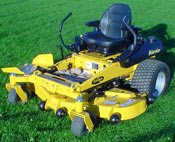 Vermont Everride warrier commercial z-mower