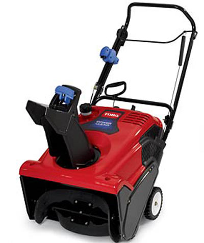 Small Engines (Lawn Mowers, etc.): Toro Snowblower - S620 Starting