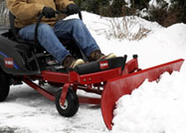 toro timecutter z snowblade attachment