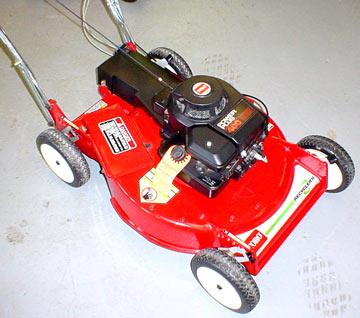 Cast Aluminum Cast Aluminum Lawn Mower