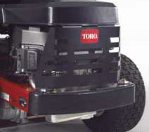 toro timecutter z4200 Rear Engine Guard
