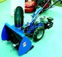 "NY. 24"" bcs snow thrower for bcs tractors and tillers 710 710e 716 720 720e 716e cutter bar"