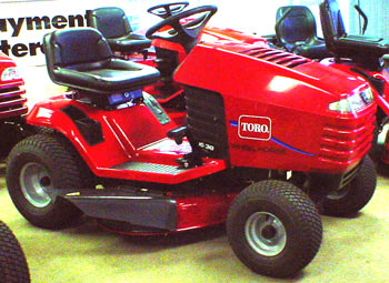 Toro 16-38HXL Lawntractor riding mower tractor lawnmower rider