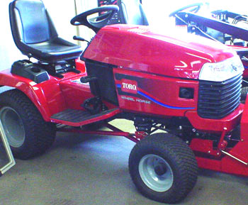 Toro 520xi garden tractor riding mower tractor lawnmower rider