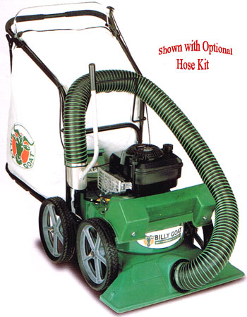 Billy Goat Self Propelled Lawn Vacuum With 2 Chipper