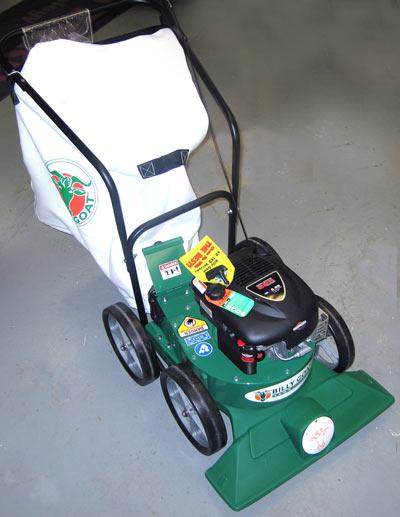 Billy Goat KD612 Lawn Vacuum