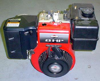 Vermont Briggs & Stratton 8hp Horizontal Engine