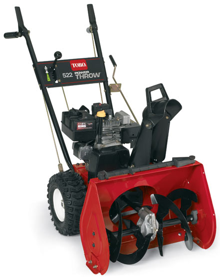 Vermont toro model 38605 two stage 522 powerthrow snowblower toro two stage 522e power throw snowblower sciox Image collections