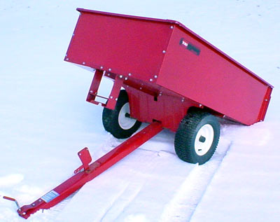 Vermont Toro 14 Cu Ft Steel Dump Cart