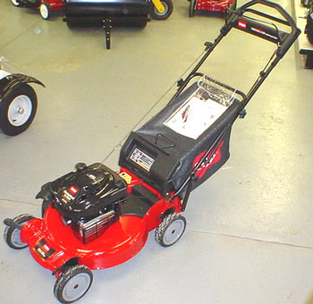 Toro Model 20058 Super Recycler Personal Pace Lawnmower