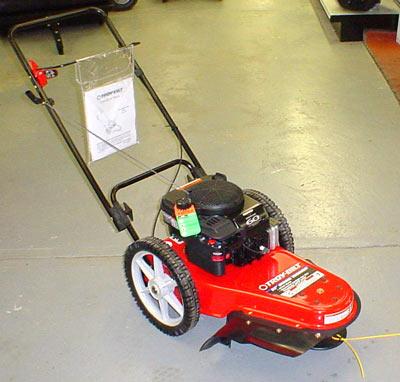 Vt Troy Bilt Troy Bilt 6hp Trimmer On Wheels Trimmer Mower
