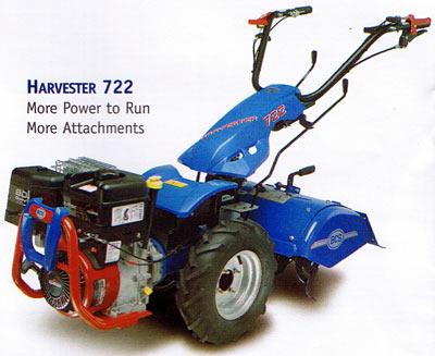 Vermont BCS 722 Harvester Roto Tiller