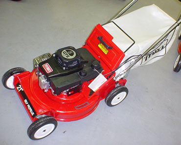 Troy Bilt Lawn Mower Parts >> Vermont Toro Electric Start 3-Spd Self-Propelled VACU-BAGGER 26624 Cast Aluminum Deck Lawn Mower