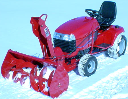 Vermont Toro 5xi Series 44 Inch Two Stage Snow Er